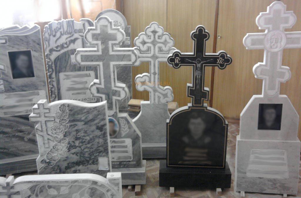 Крест из мрамора Уфалей